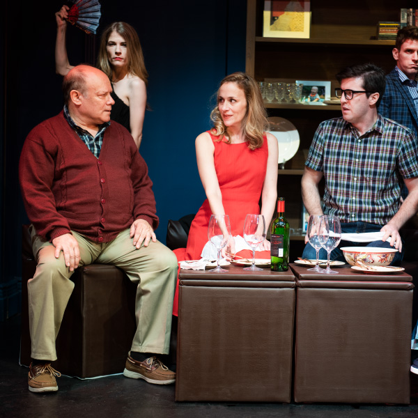From left: Joel Blum, Morgan Weed, Jennifer Blood, Kevin Zak, Brennan Caldwell, Photo by Jenny Anderson